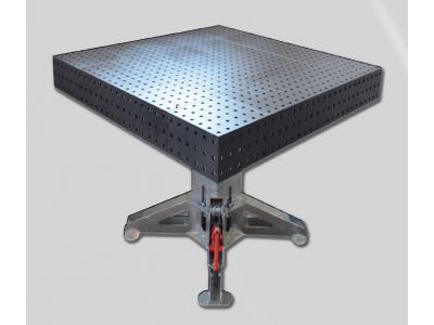 Svařovací stůl monoblok - černý