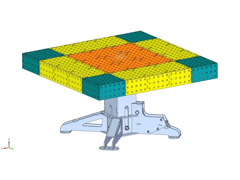 Modulové svařovací stoly