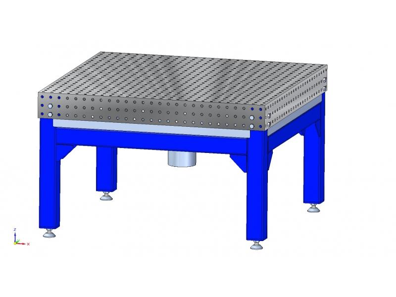 Atypické svařovací stoly
