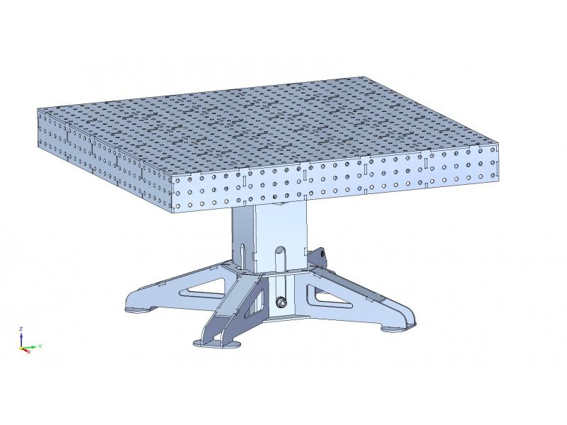 Monoblokové svařovací stoly