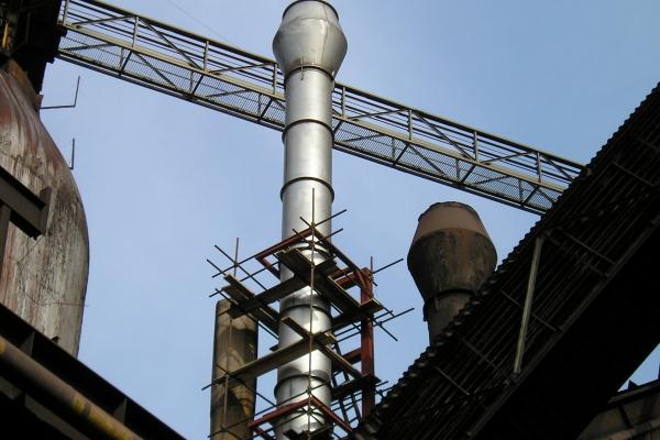 Výroba komínu granulace VP6