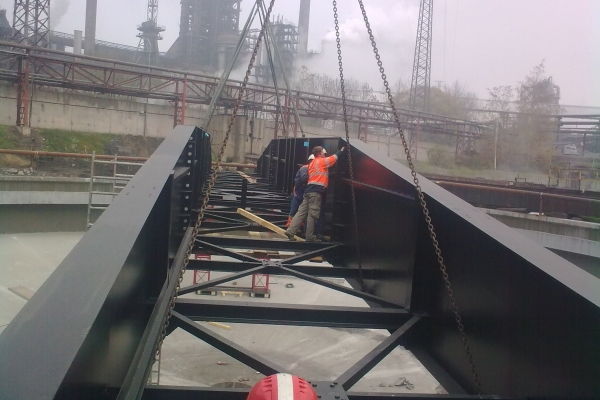 Rekonstrukce chladícího okruhu plynočistírny - Dorr č. 1