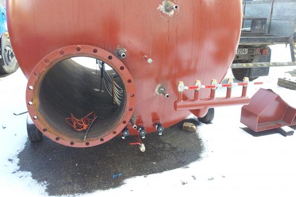 Výroba akumulační nádrže DN 2000