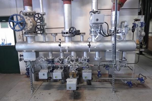 Úprava plynové kotelny