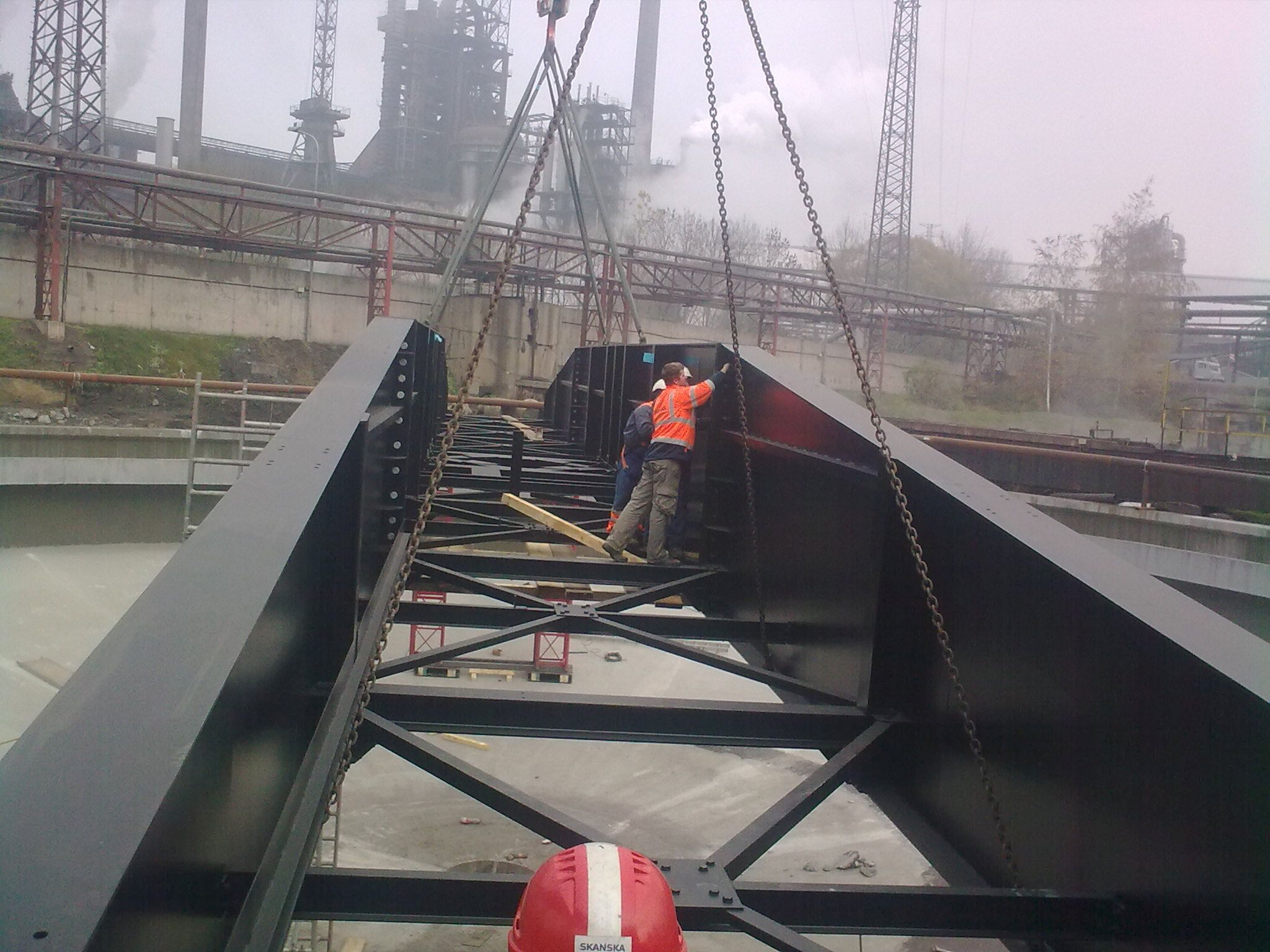 Rekonstrukce chladícího okruhu plynočistírny - Dorr č.1